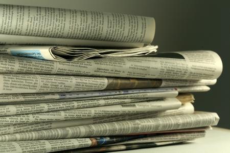 Zeitung austragen